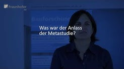 Fraunhofer IRB: Wirtschaftlichkeit energieeffizienter Baumaßnahmen - ein Interview zur Metastudie