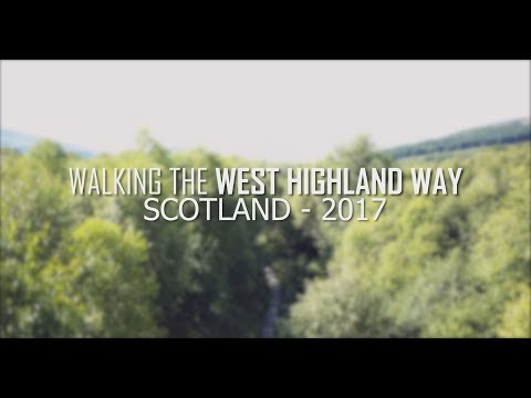 Droning the West Highland Way