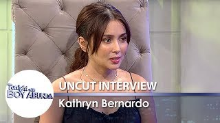 Kathryn Bernardo | TWBA Uncut Interview