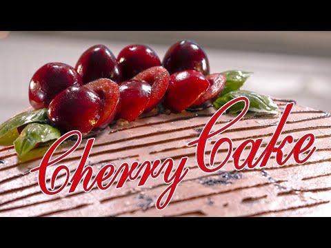 Fresh Cherry Cake  Traditional Cherry Cake Recipe