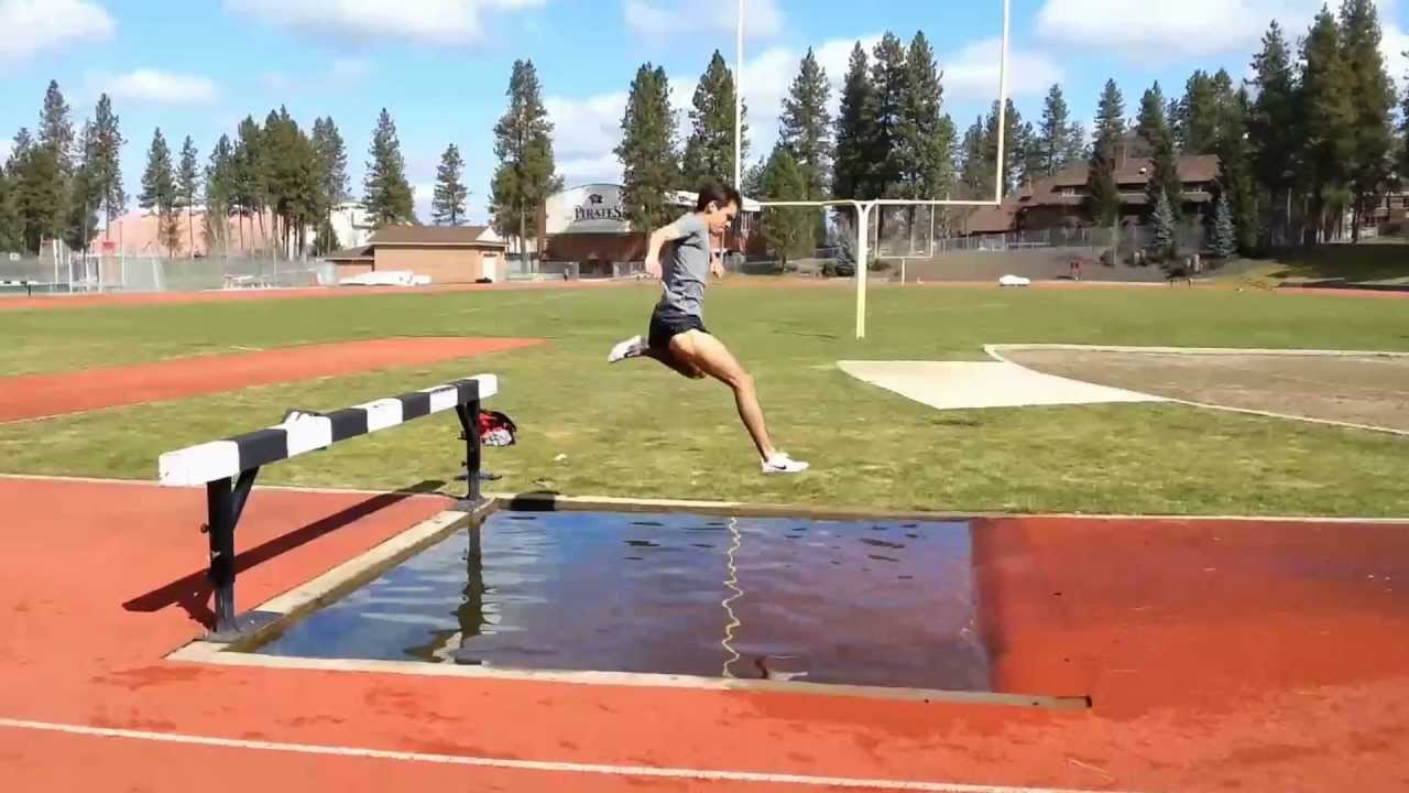 Guxc steeplechase water jump practice whitworth for Steeple chase
