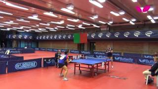 Europe Youth Top 10, 2013, Junior Girls, Rakovac (CRO), Balint (ROU), Ciobanu (ROU)