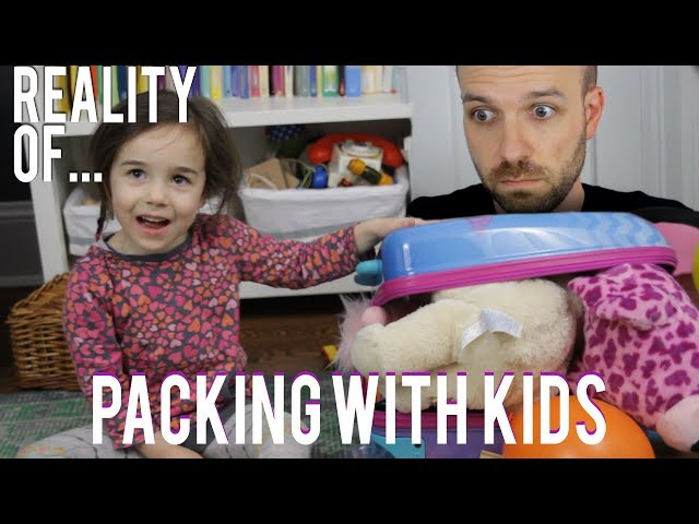 Pack And travel with Kids Like a Boss