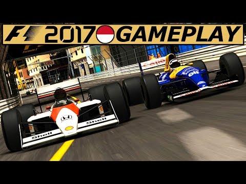 McLaren MP4/4 Monaco + Nacht – F1 2017 Gameplay German | Lets Play Formel 1 2017 Classic Deutsch 4K