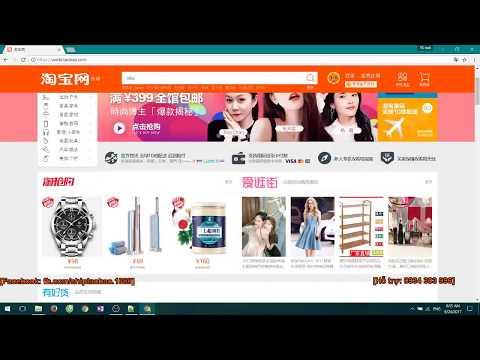 Hướng dẫn tự đặt hàng Trung Quốc  – Tạo tài khoản taobao