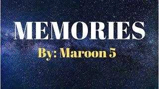 Gambar cover Maroon 5 - Memories Lyrics