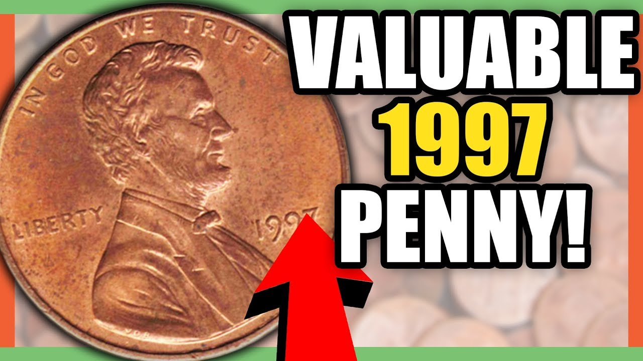 very rare 1997 penny worth money 1997 lincoln penny coins worth money youtube. Black Bedroom Furniture Sets. Home Design Ideas