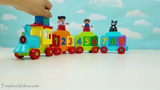 Best Kids Children Learn To Count & Colors Toddler Babies Toys LEGO DUPLO My First Number Train Toy