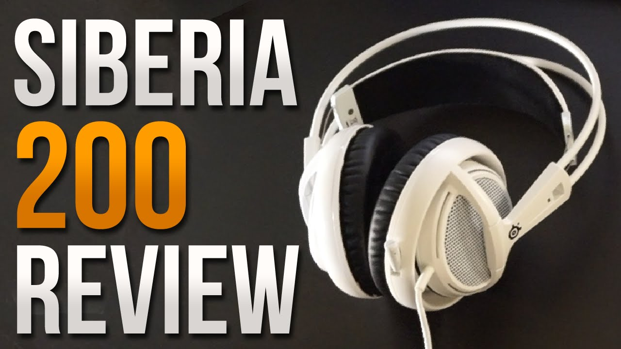 Steelseries Siberia 200 Review - Gaming Headset (+ Microphone Test) -  YouTube 15163e1416