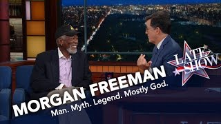 Morgan Freeman Doesn't Want To Die On Mars