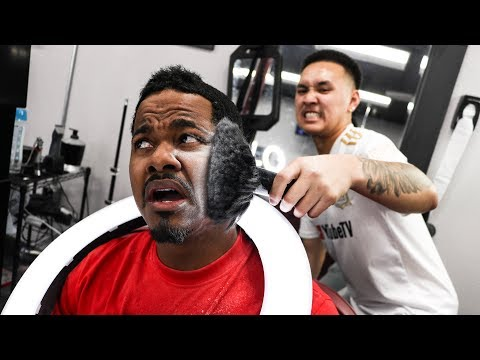 OH YOU A BARBERS...BARBER!?!?!