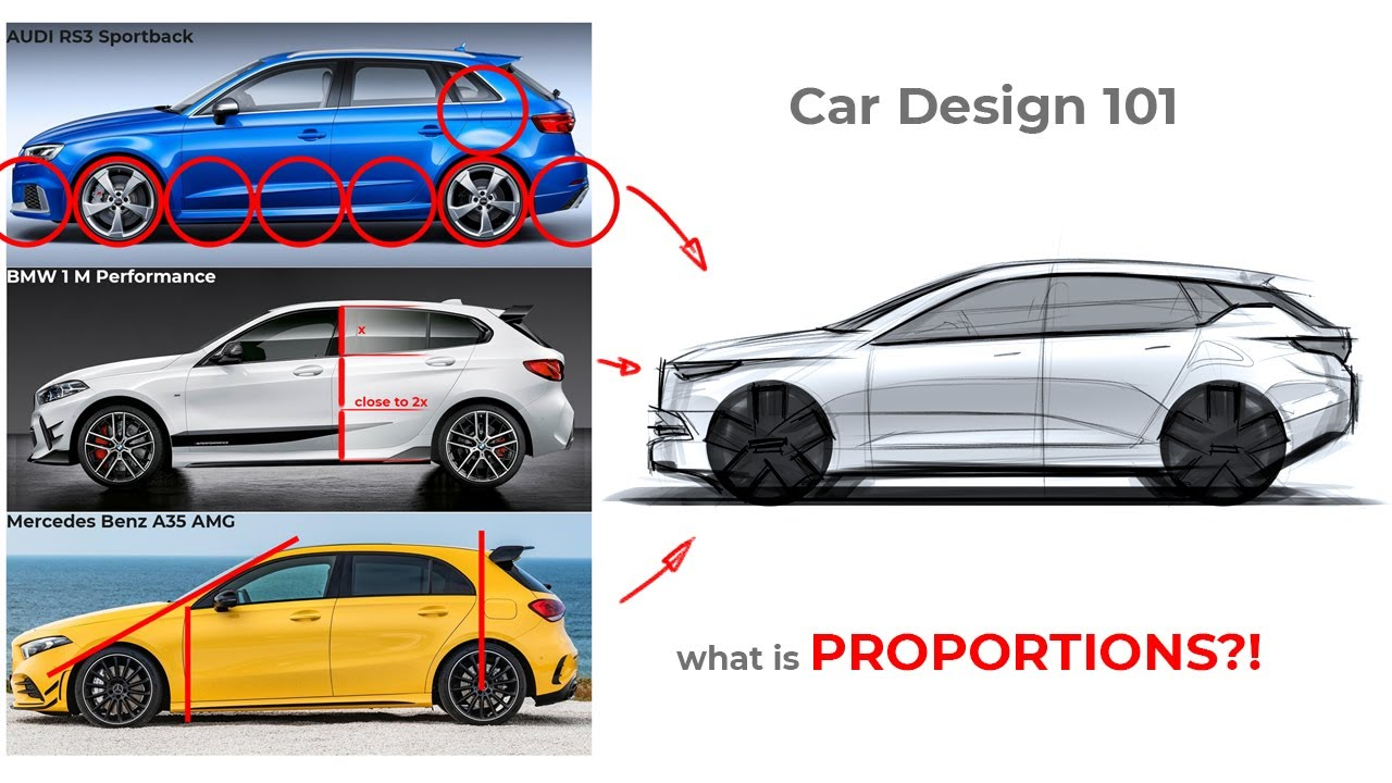CAR DESIGN 101 - what is PROPORTIONS?! - YouTube