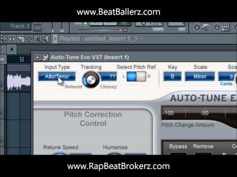 Repeat Beat Brokerz Presents- AutoTune Tutorial in FL Studio