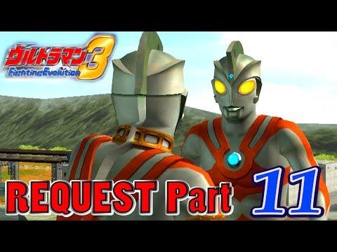 Ultraman FE3 - Battle Mode Request Part 11 - Ultraman Ace ( 1080p HD 60fps )