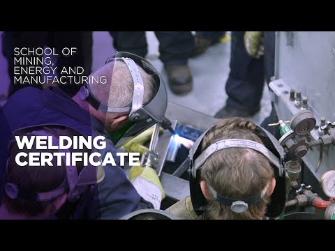 Welding Certificate Program