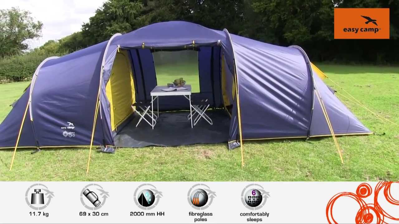 Easy C& Galaxy 600 Tent | Just Add People & Easy Camp Galaxy 600 Tent | Just Add People - YouTube