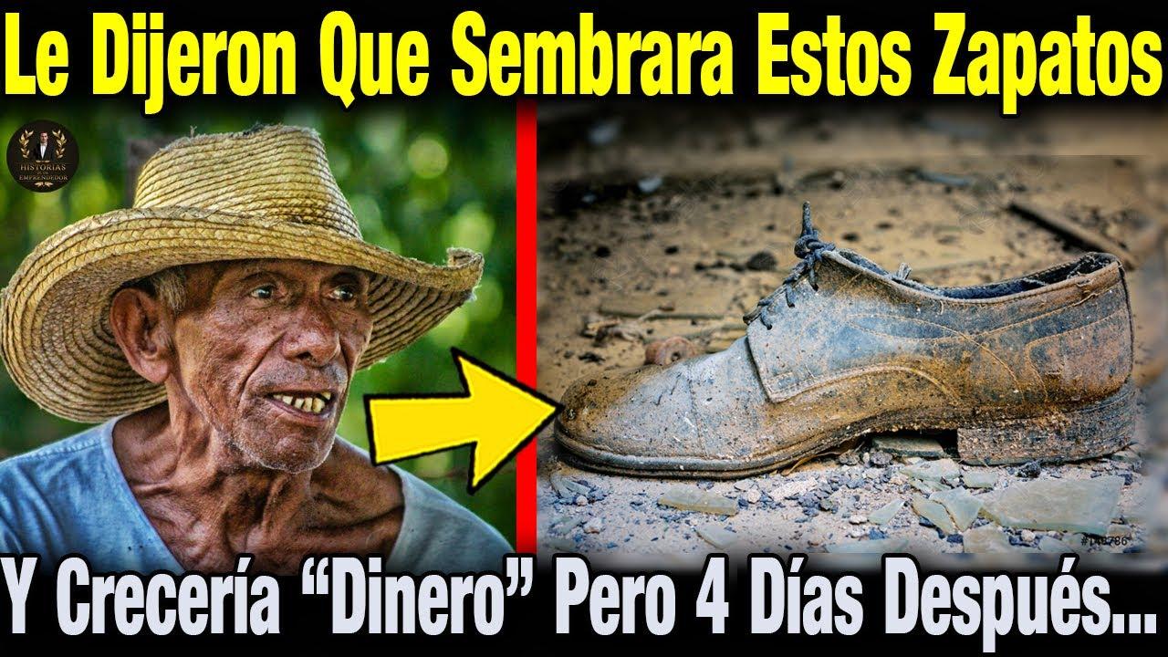 Le Dijeron Que Si Sembraba Zapatos Viejos Crecería Dinero. El Campesino Lo Creyó Y Luego Pasó Esto
