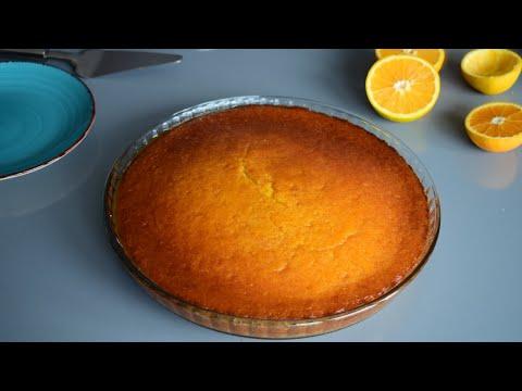 cake-moelleux-à-l'orange-et-l'huile-d'olive-كيكة-بالبرتقال-و-زيت-الزيتون
