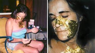 A Esta Mujer Le Crece Oro en el Rostro en Lugar de Piel