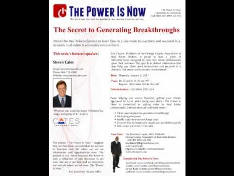The Sercret to Generating Breakthroughs Part 5.wmv