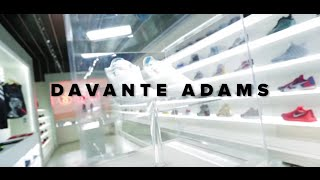 Davante Adams Talks Sneakers at Drip LA