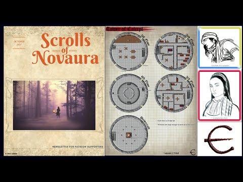 RPG NEWSLETTER & MONTHLY REWARDS (D&D, tabletop roleplaying, fantasy stories)