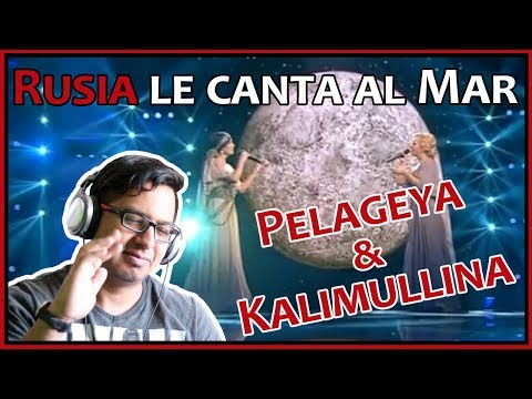 "🎵💖 REACTION ""PELAGEYA & KALIMULLINA - Cançao do Mar"" 