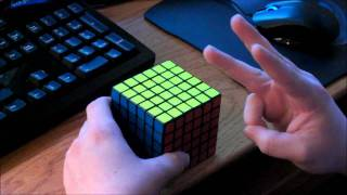 how to perform oll and pll parity on big cubes 4x4 7x7