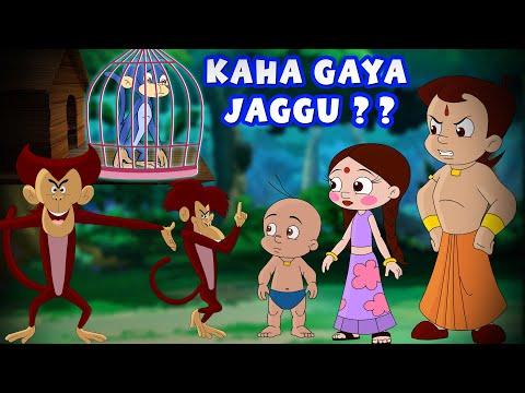 Chhota Bheem - Kaha Gaya Jaggu? | Hindi Cartoon For Kids