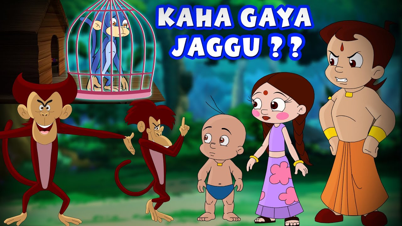 Chhota Bheem - Kaha Gaya Jaggu? | Hindi Cartoon For Kids