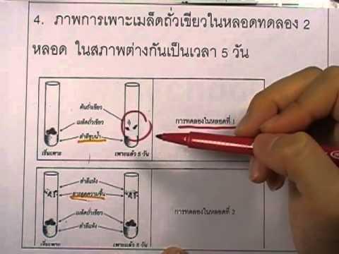 ข้อสอบO-NET ป.6 ปี2552 : วิทย์ ข้อ4