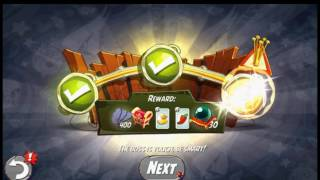 Beat The Daily Challenge King Pig Panic Completed in Angry Birds 2 FRIDAY