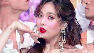 현아 (HyunA) 플라워 샤워 (Flower Shower) 교차편집 (Stage Mix)