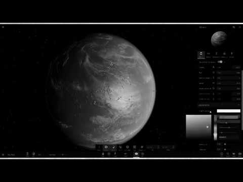 How to create a habitable planet in Universe sandbox^2 (accidentally in monochrome)