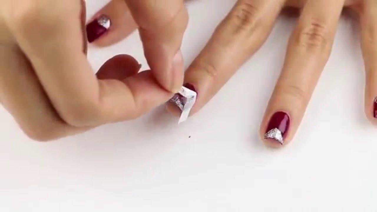 Tırnak Bantlı Nail Art Nasıl Yapılır