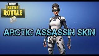 Fortnite Arctic Assassin peau et réinitialiser