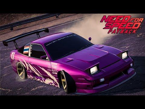 แต่งรถ NISSAN 180SX Type X - Need for Speed Payback