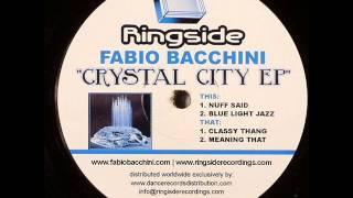 Fabio Bacchini  -  Classy Thang