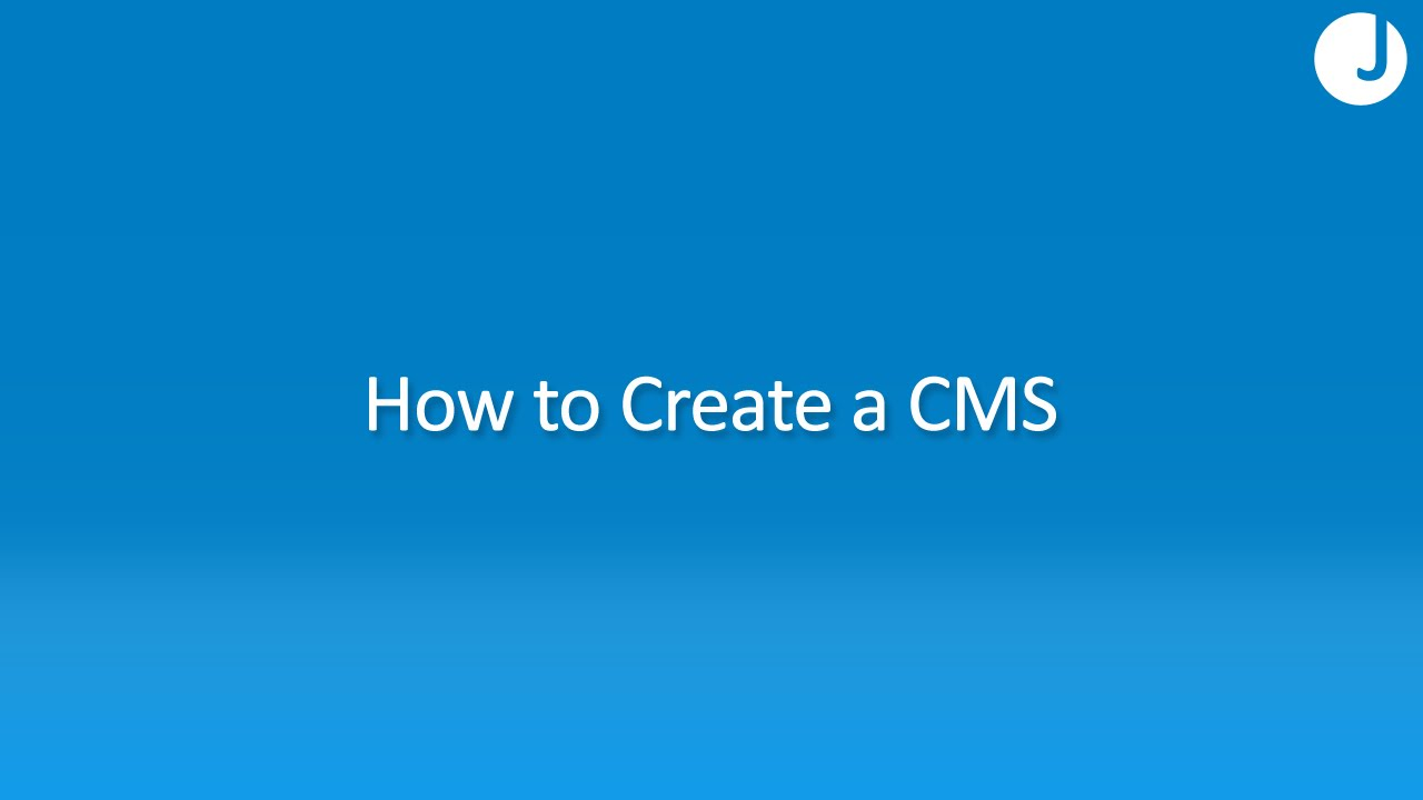 How To Create A Content Management System Cms Using Php
