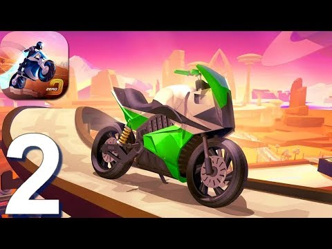 Gravity Rider Zero - Gameplay Walkthrough Part 2 (Android, iOS Game)