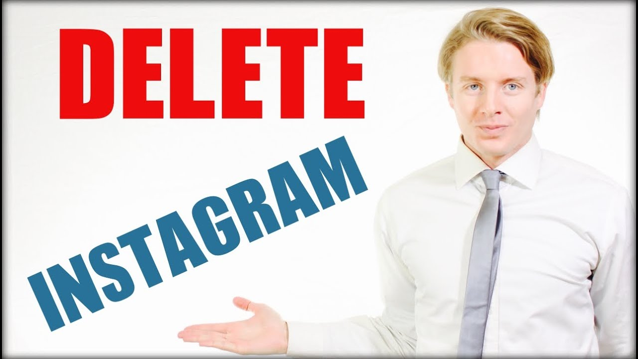 How To Delete Instagram Account Permanently On Iphone, Phone Orputer  2016