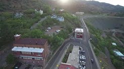 Jerome Arizona DJI Inspire 1 drone fly over UAV