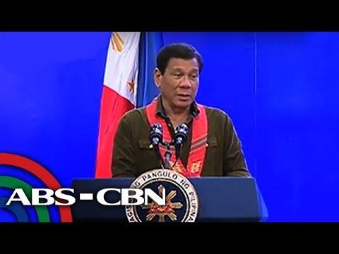 TV Patrol: Martial law, ilang beses nang iniumang noon ni Duterte
