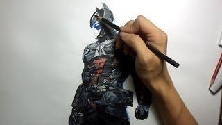 Batman Arkham Knight:  Arkham Knight Drawing