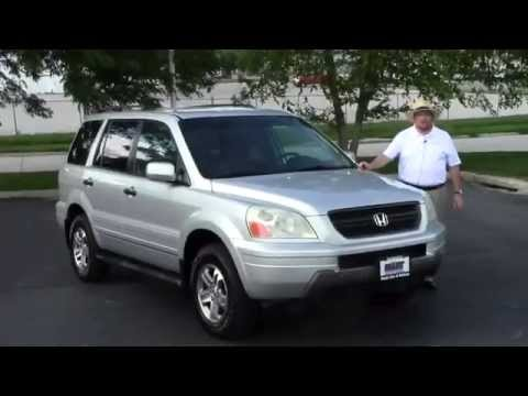 Used 2003 Honda Pilot EX 4wd for sale at Honda Cars of Bellevue...an Omaha Honda Dealer!