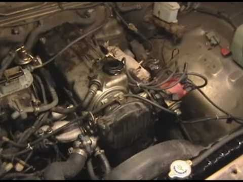 mazda b2200 timing belt change youtube rh youtube com mazda b2200 engine diagram 1991 mazda b2200 engine diagram