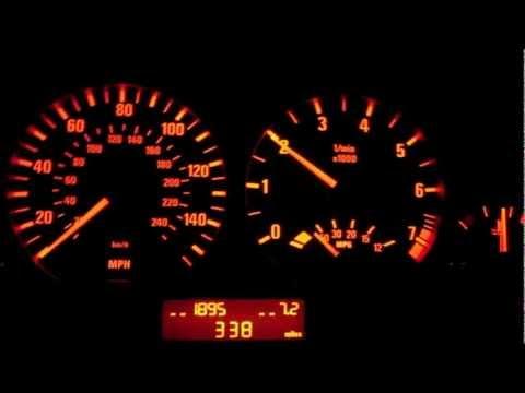 BMW E46 330i Secret OBC Function - Digital RPM