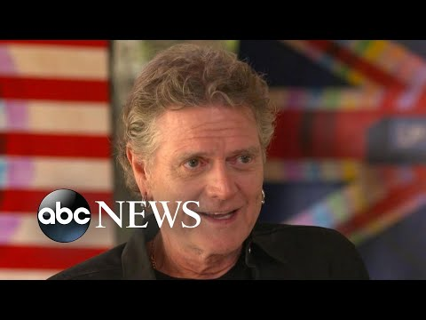 Drummer Rick Allen, who lost his left arm in an accident, turns to painting | Nightline