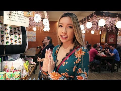 Japanese Food Village in Hawaii *I GOT INJURED*