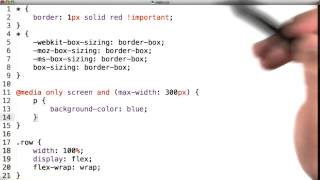 Intro to HTML and CSS - Media Specific CSS